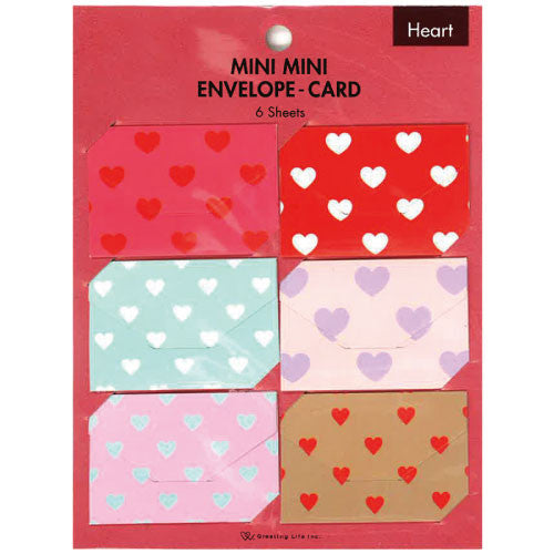 Greeting Life Mini Mini Envelope Card HT-15