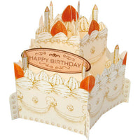 Greeting Life Whole Cake Card Strawberry Sponge Cake HT-3