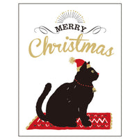 Greeting Life Letter press Christmas Mini Card HT-61