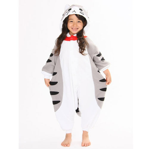 SAZAC Tabby Cat Kigurumi for Kids