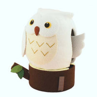 kyoohoo solar Powered Owl White K12-3208W