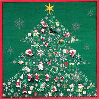 kyoohoo Cotton Furoshiki Small Size Christmas