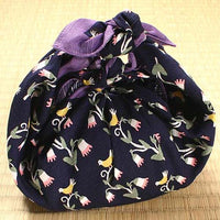 kyoohoo Cotton Furoshiki Small Size Flower & Little bird