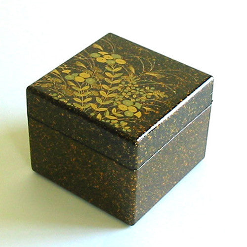 Kyoohoo Lacquer Ware Earring Box Autumn flower