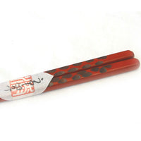Kyoohoo Lacquer Ware Chop Sticks Kiriko Orange
