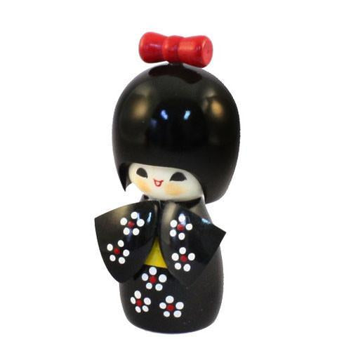 Kyoohoo Japanese Kokeshi Doll brown (k12-4315B)
