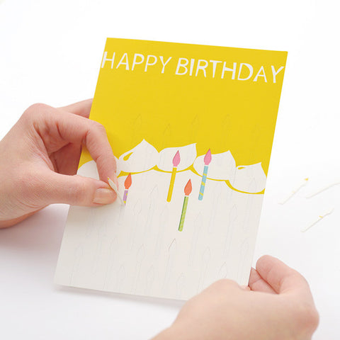 Tegami Paper Mechanics Greeting Card Happy Birthday