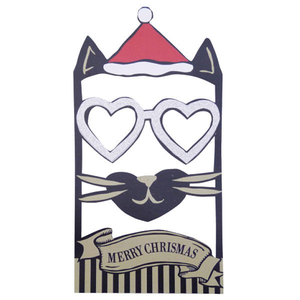 Greeting Life Face Frame Christmas Card KK-9