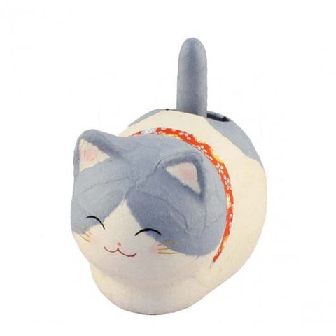 Solar Powered Paper Cat Blue K12-3213BL