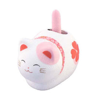 Solar Powered Fengsui Cat Pink K12-3212P