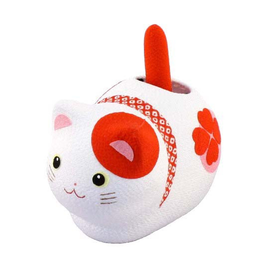 kyoohoo solar Powered Fengsui Cat Red K12-3212R