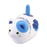 Solar Powered Fengsui Cat Blue K12-3212B