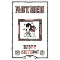 Greeting Life Birthday Surprise Change Card Mother LY-17