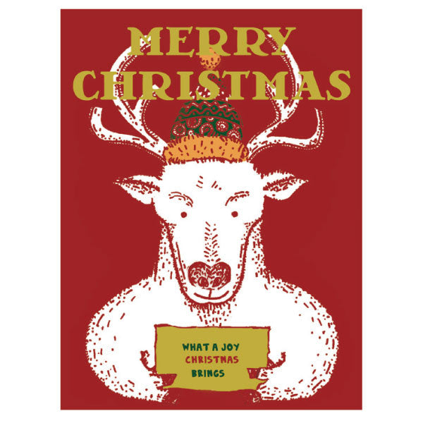 Greeting Life Portrait Press Christmas Card LY-2