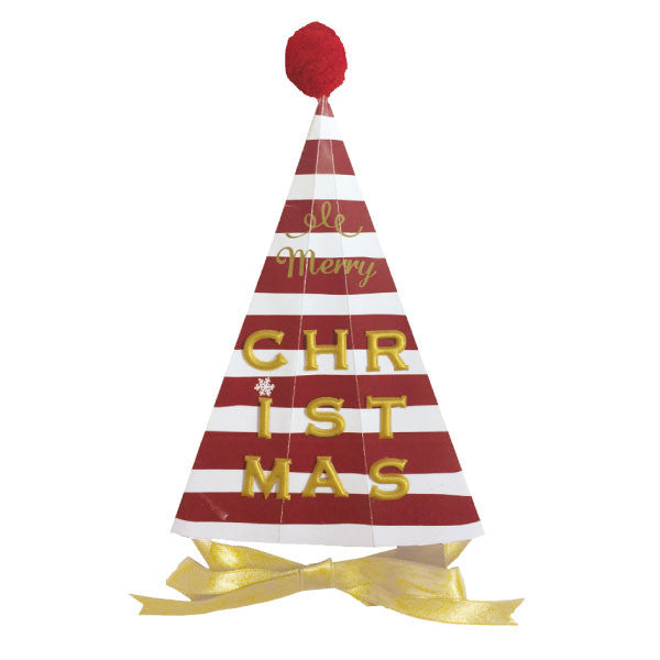 Greeting Life Christmas HAT Card LY-23