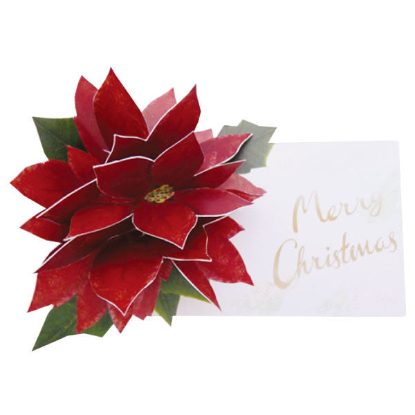 Greeting Life Flower Pop Up Christmas Card LY-27