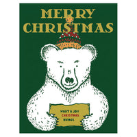 Greeting Life Portrait Press Christmas Card LY-3