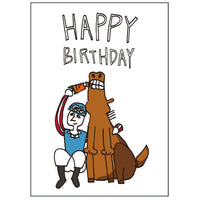 Greeting Life JOE & BEN Birthday Card Good Friend LY-4