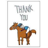 Greeting Life JOE & BEN Thank you Card Hug LY-6
