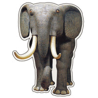Greeting Life Animals Post Card MIisawa Atsuhiko Elephant WA-10
