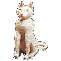 Greeting Life Animals Post Card MIisawa Atsuhiko Cat WA-5