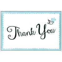 Greeting Life Cotton Letter Press Thank you Card MM-101
