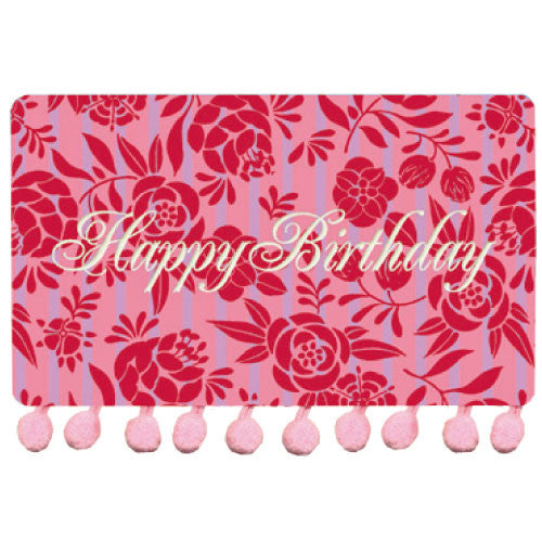 Greeting Life BONBON Birthday Card Pink/Purple MM-37