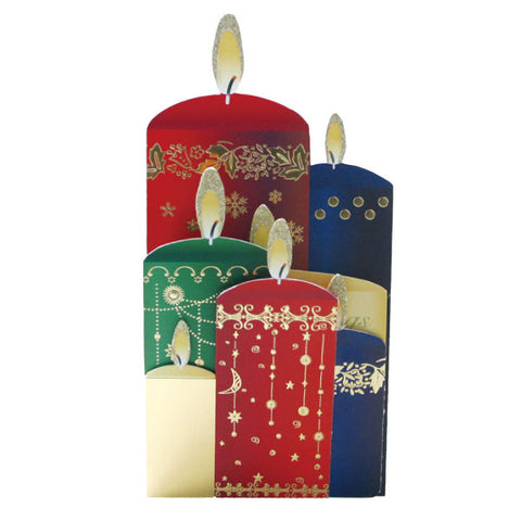 Greeting Life Christmas Candle Night Card MM-57