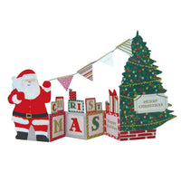 Greeting Life Christmas Flags Card MM-69