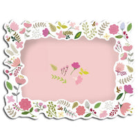 Greeting Life Message Photo Card Botanical Pink MM-86