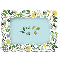 Greeting Life Message Photo Card Botanical Green MM-87