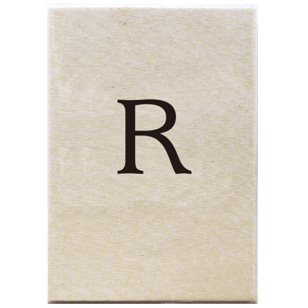 Greeting Life Note Book Initial R MMN-93