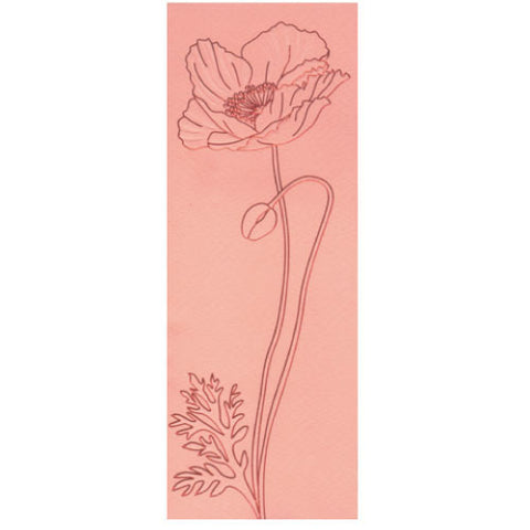 Greeting Life Maniere Card Poppy mp-144
