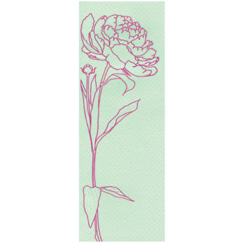 Greeting Life Maniere Card Peony mp-156