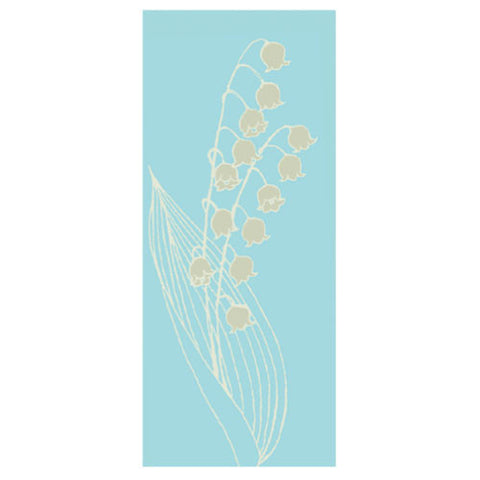Greeting Life Mini Maniere Card Lily of the valley mp-204