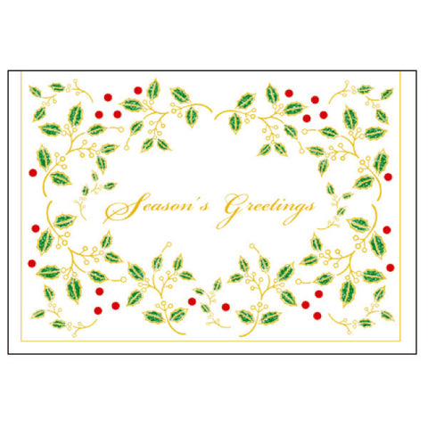 Greeting Life Maniere Christmas Card MS-4