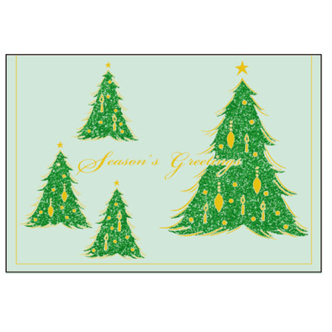 Greeting Life Maniere Christmas Card MS-5