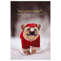 Greeting Life Christmas Post Card Natsuhiko NA-33