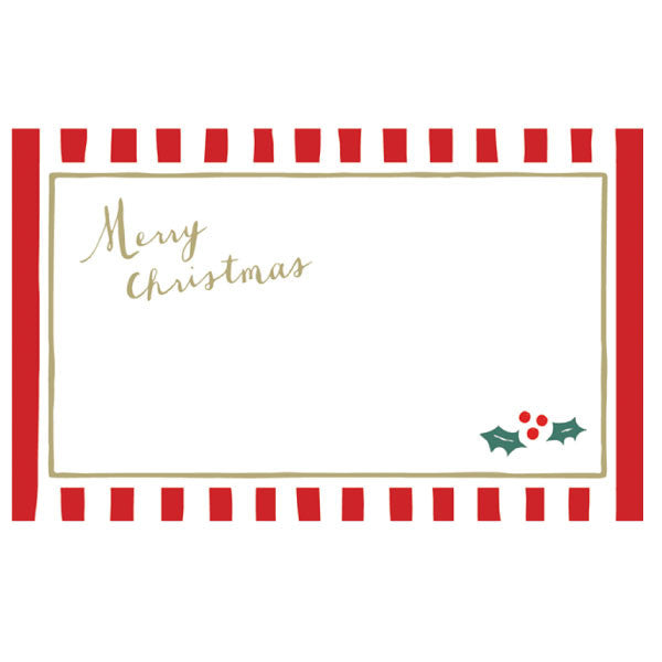 Greeting Life Christmas Name Card NC-78