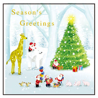 Greeting Life Christmas Card P-208
