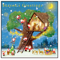 Greeting Life Christmas Card P-224