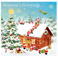 Greeting Life Christmas Card P-226