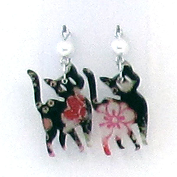 COCOLUCK Motif earrings CO-P8264-201
