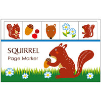 Greeting Life Page Marker Squirrel PG-13