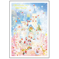 Greeting Life Mini Santa Christmas Card S-381