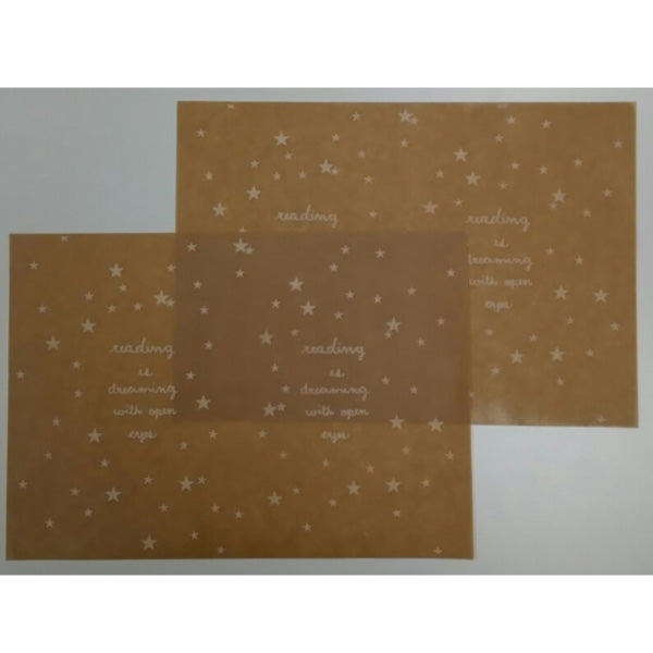 Jolie Poche Wax Paper Book Jacket (S) SBS-08wh