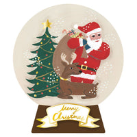 Greeting Life Christmas Snow Dome Mini Card SD-1
