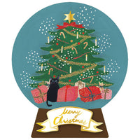 Greeting Life Christmas Snow Dome Mini Card SD-2