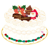 Greeting Life Christmas Pocket Cake Card SE-7