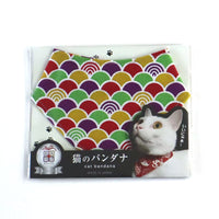 COCOLUCK  Cat Bandana CO-6197-SEAWAVE